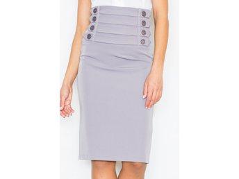 grå tight kjol