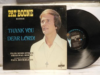 PAT BOONE - SINGS THANK YOU DEAR LORD