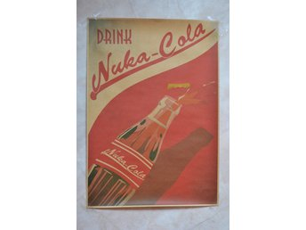 Drink Nuka-Cola, Öppnas Fallout Poster 30*42cm Ny