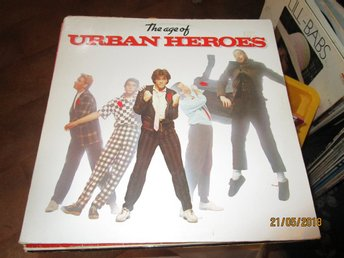 THE AGE OF URBAN HEROES - LP