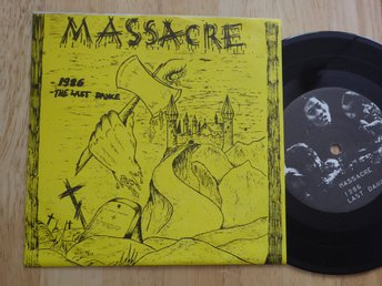 MASSACRE  MIQUEL CO Split singel Kokemus Finland -87
