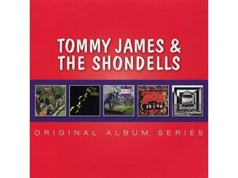 James Tommy & Shondells: Original albums 66-69 (5 CD)
