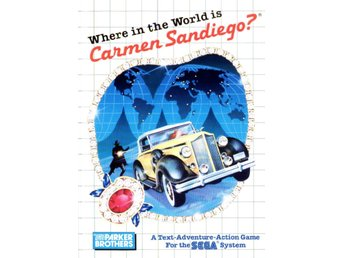 Where in the World is Carmen Sandiego? - Master System