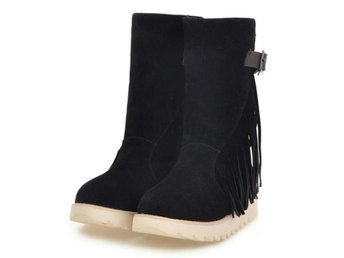 Dam Boots Brand New Warm Fur Winter Botas Mujer Black 41