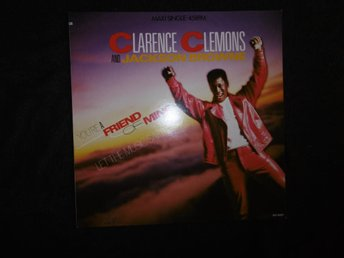 "Clarence Clemons & Jackson Browne - You´re a friend-12""-1985"
