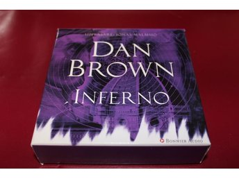 CD-bok: Inferno - Dan Brown