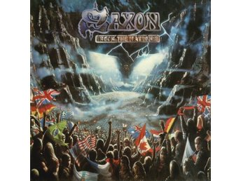 Saxon -Rock The Nations digibook cd S/S 2018 w/8 bonus track