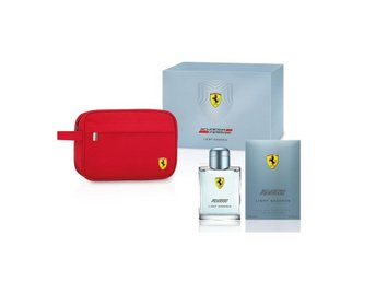 Giftset Ferrari Scuderia Light Essence Edt 125ml + Pouch