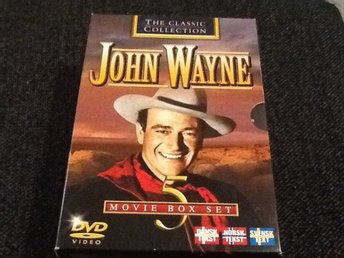 DVD - JOHN WAYNE CLASSIC COLLECTION - Fint skick - FAST PRIS/FRI FRAKT