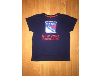 NHL New York Rangers t-shirt, strl. 140/146