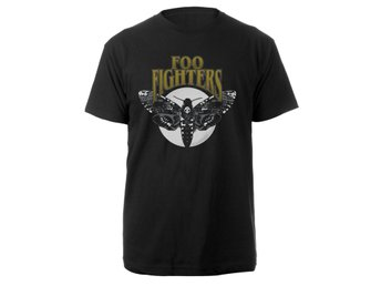 Foo Fighters - Black Hawk Moth T-Shirt 2 Extra-Large