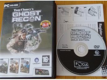 PC DVD Ghost Recon Gold Edition 3in1