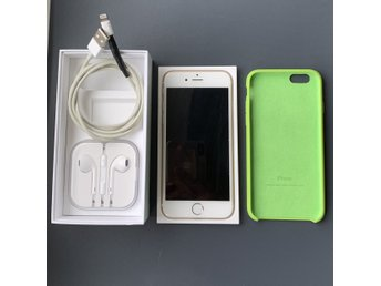 Iphone 6 Gold Olåst 16 Gb 203222bbd3ac7