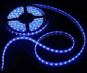 NEW DeluX 5m SMD LED Slinga Tape  300LED IP66 ~  Blå