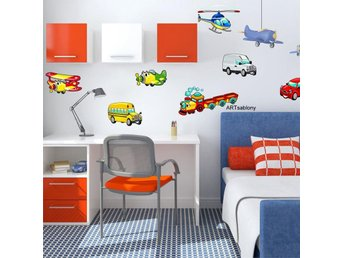 Wall sticker - Vehicles (3384f)