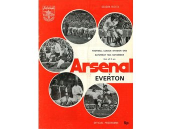 Arsenal - Everton (18.11.1972)