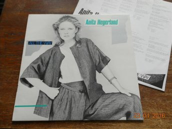 ANITA HEGERLAND - All the way, LP med Björn Skifs, CBS 1983