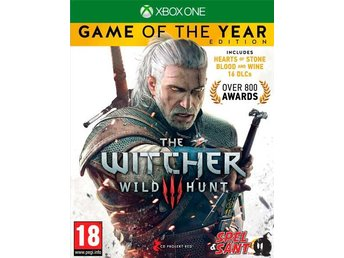 The Witcher III (3) Wild Hunt Game of the Year Edition