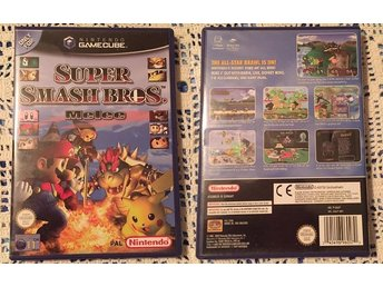 Nintendo Gamecube Spel - Super Smash Bros Melee