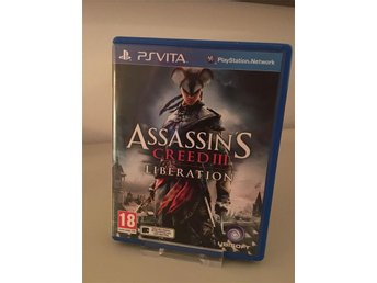 Assassins Creed III Liberation - Komplett - Fint skick - PS Vita