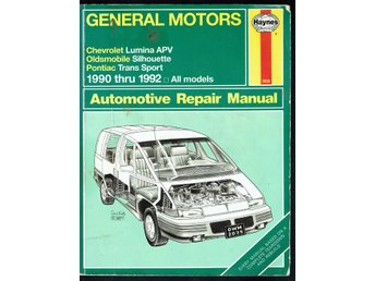 Haynes - General Motors - Chevrolet Oldsmobile Pontiac 1990