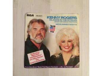 "KENNY ROGERS/DOLLY PARTON - ISLANDS IN THE STREAM. (7"" SINGEL)"
