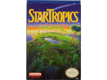 Star Tropics - Nintendo 8bit - Varberg - Star Tropics - Nintendo 8bit - Varberg