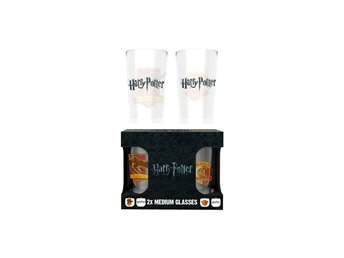 Glas (set med 2) - Harry Potter Quidditch