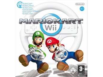 Mario Kart Wii (inkl. Wii Racing Wheel)