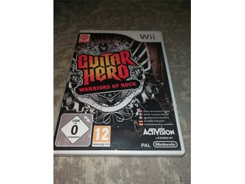 Wii Guitar Hero Warriors Of Rock -1kr-