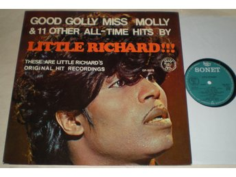 Little Richard Lp Good Golly Miss Molly VG++