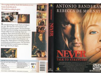 Never Talk to Strangers 1995 DVD