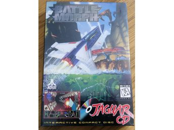 Battle Morph Atari Jaguar CD Spel Nytt