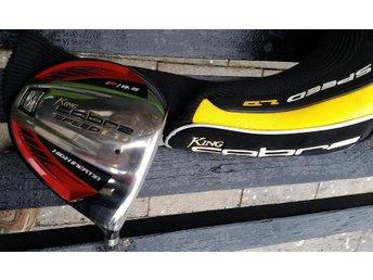 Javascript är inaktiverat. - Tranås - Välvårdad driver COBRA SPEED LD. Loft: F/9,5° med stort huvud! Bra skaft: Tour AD Accuracy & Distance YS Speed Turned 62 g / 125-155mph / Mid/5,1°. Grepp: Cobras spec. Golf Pride. Snygg Orginal cover. Frakt med Schenker 90kr=spårbart. Efter - Tranås