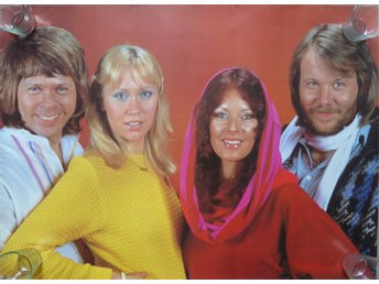 Big rolled Abba Poster -8-