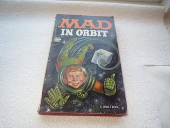 BOK POCKET / USA MAD - MAD IN ORBIT  / 1962 A SIGNET BOOK