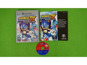 Sonic Adventure DX Directors Cut KOMPLETT Gamecube Nintendo Game Cube