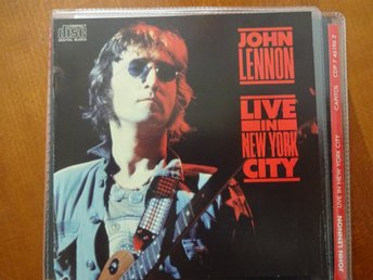 John Lennon - Live in New York City, CD i skick som ny, utgången