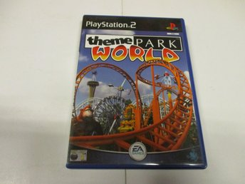 Theme Park World - PLAYSTATION 2 (Komplett!)