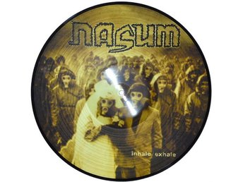 NASUM - INHALE/EXHALE (PIC DISC) LP