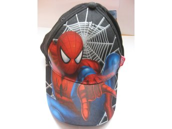 Keps Skärm - Disney Marvel Spiderman Svart Big net M&M
