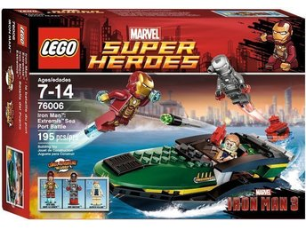 Lego Super Heroes 76006 - Iron Man: Extremis Sea Port Battle