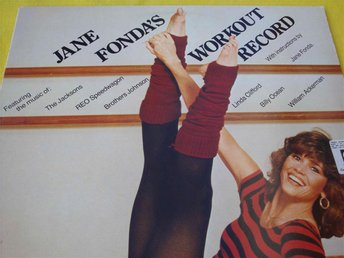 JANE FONDAS WORKOUT RECORD DLP 1982 REO SPEEDWAGON