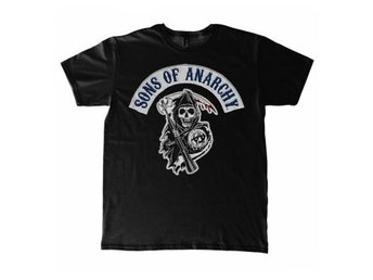 Sons of Anarchy T-Shirt Logo Svart XXL