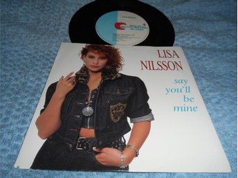 Lisa Nilsson - Say You'll Be Mine (si) ovanlig EX/EX