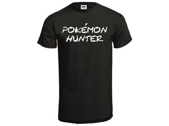 T-shirt POKÉMON HUNTER Stl S svart