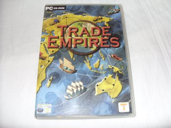 Trade Empires spel till PC CD ROM