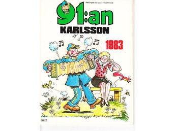 91 Karlsson 1983 / 91:an / FN/VF / mycket snygg - Vallentuna - 91 Karlsson 1983 / 91:an / FN/VF / mycket snygg - Vallentuna