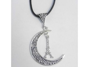 Torn måne halsband / Tower moon necklace