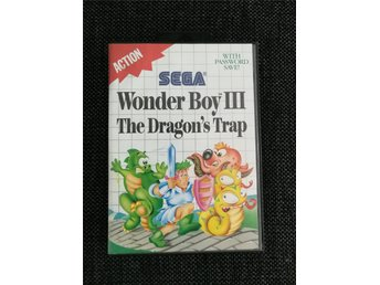 Wonder Boy III The Dragon's Trap (Sega Master System) Komplett!